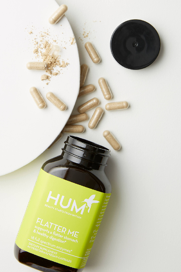 Hum Nutrition Flatter Me Supplement By  In Green Size All