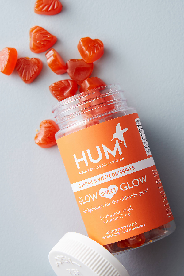 Hum Nutrition Glow Sweet Glow Gummies By  In Orange Size All