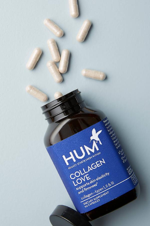Hum Nutrition Collagen Love Supplement In Blue