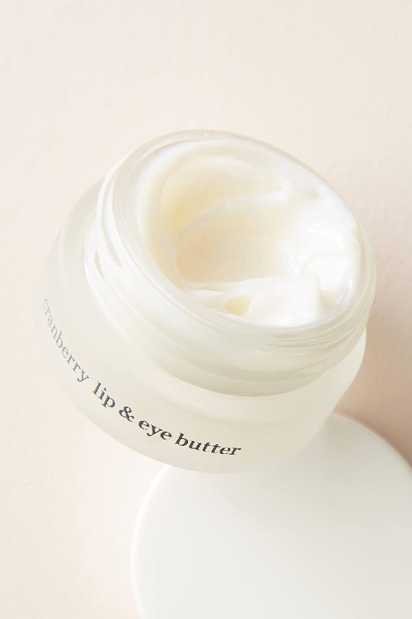 Ere Perez Cranberry Lip + Eye Butter In White