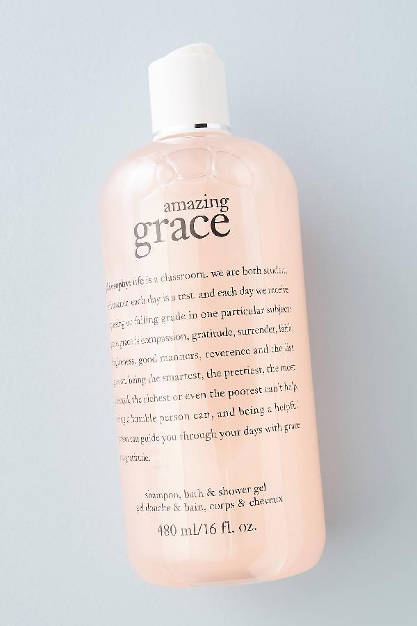 Philosophy Amazing Grace Shampoo, Bath + Shower Gel In Pink