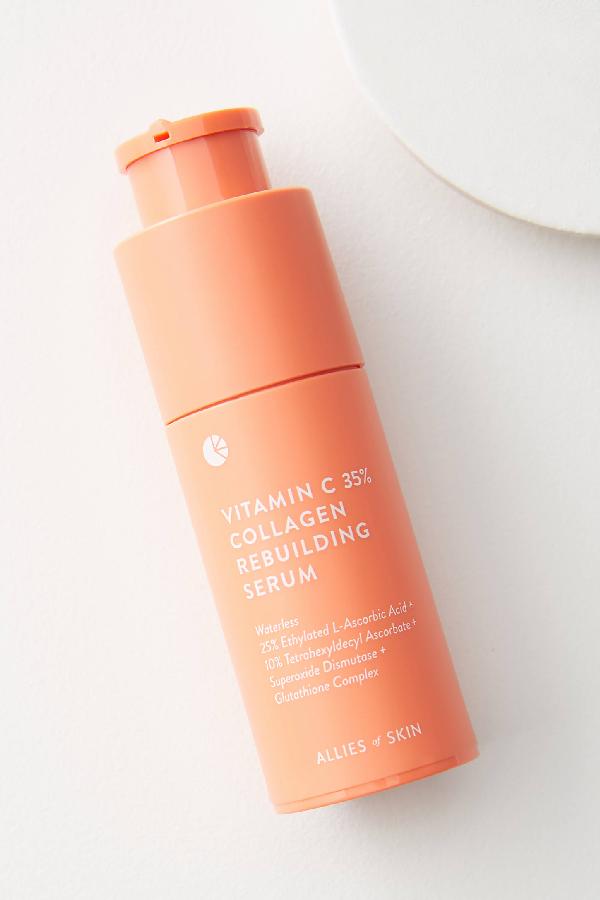 Allies Of Skin Vitamin C + Collagen Rebuilding Serum In Orange