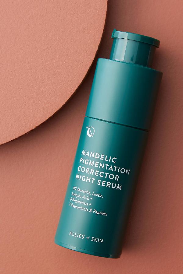 Allies Of Skin Mandelic Pigmentation Corrector Night Serum In Green