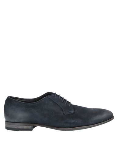 Pantanetti Laced Shoes In Dark Blue