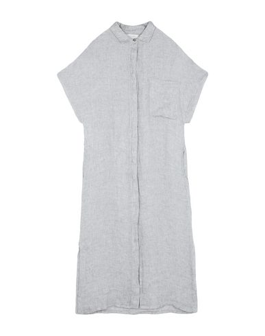 Crossley Midi Dress In Light Grey