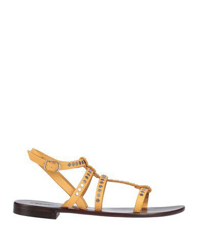 Nanni Sandals In Ocher