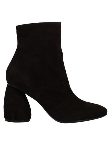 Carven Ankle Boot In Dark Brown