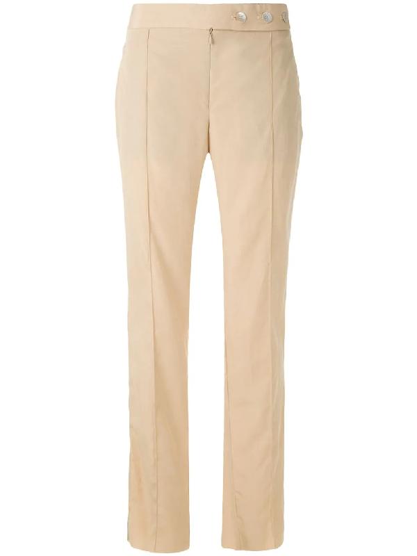 AlcaÇuz Modem Straight Trousers In Neutrals