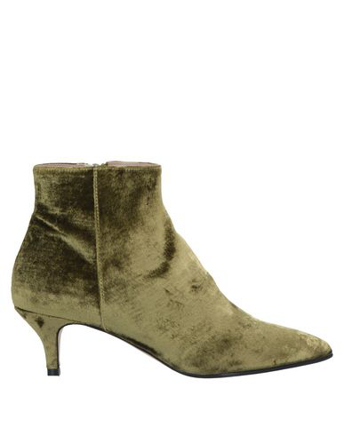 Cheville Ankle Boot In Light Green