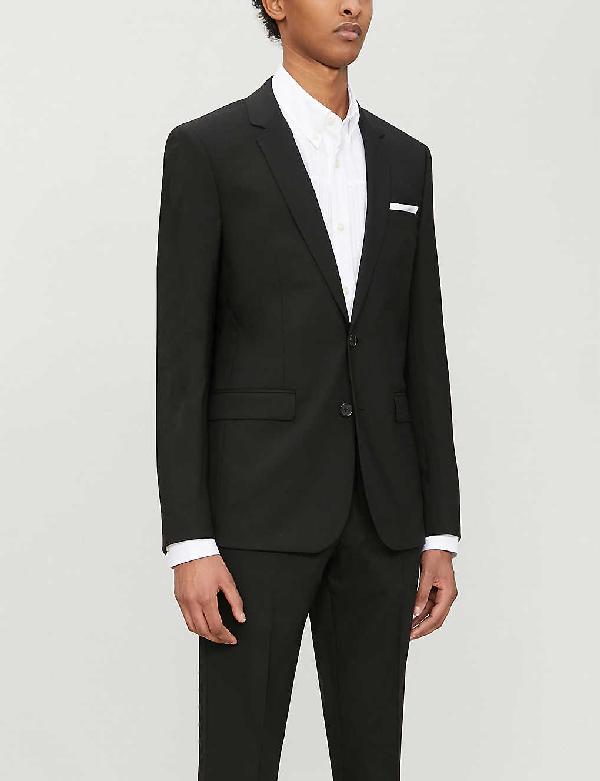 Sandro Slim-fit Wool-blend Blazer