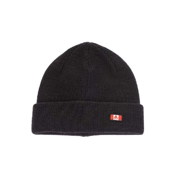 Moose Knuckles Men's Black Wool Hat