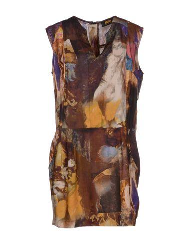 Diesel Short Dress In Brown