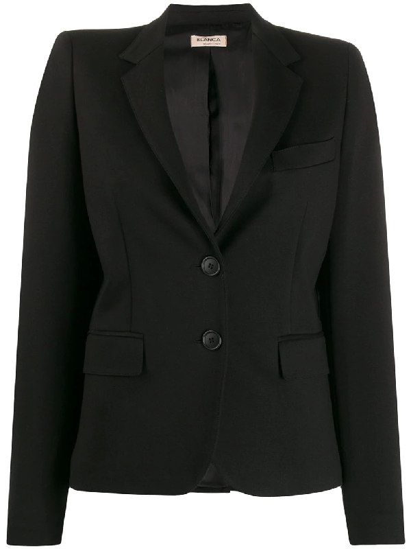 Blanca Single Breasted Blazer In Black