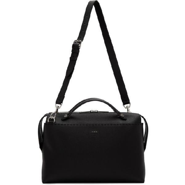 Fendi Black By The Way Briefcase In F0gxn Black