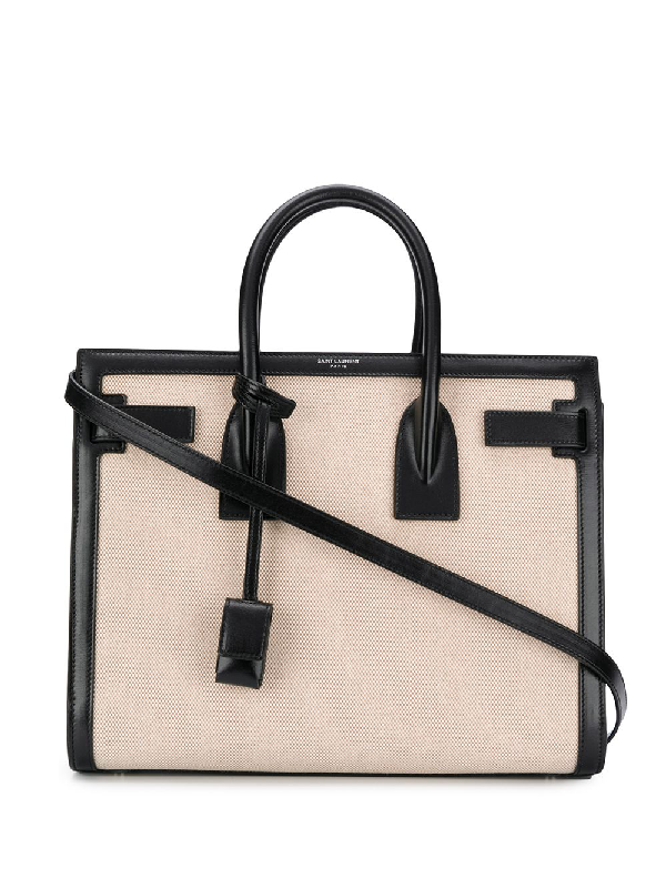 Saint Laurent Sac De Jour Tote In 大地色