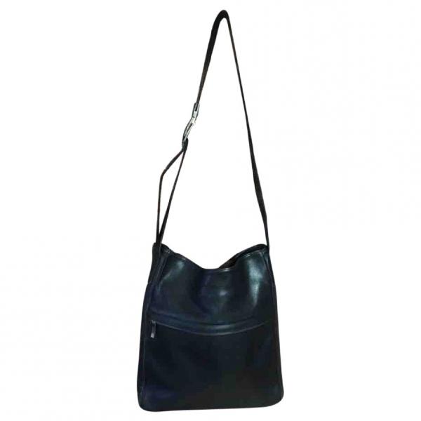 Robert Clergerie Black Leather Handbag