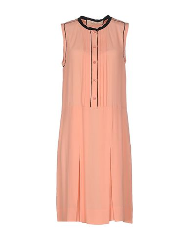 Marni Knee-Length Dress In Salmon Pink