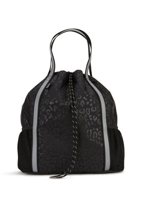 Andi Studio Backpack - Black Leopard