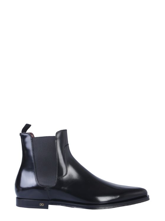 Dolce & Gabbana Beatles Millennials Boot In Black