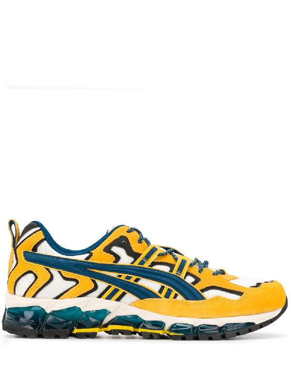 Asics Gel-nandi 360 Low-top Trainers In Yellow