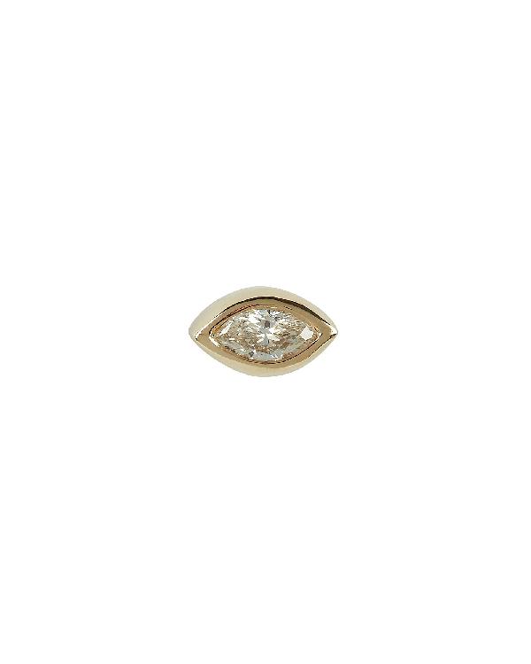 ZoË Chicco Marquis Diamond Stud In Gold