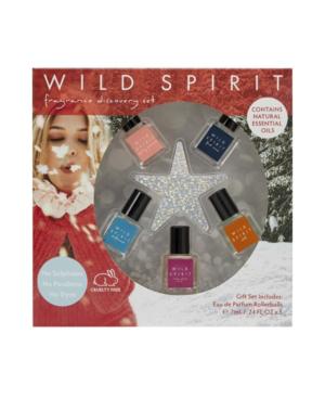 Raw Spirit Wild Spirit Holiday Star Eau De Parfum Rollerballs, 5-pc Set