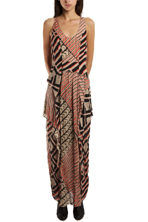 Thakoon Women's  Addition Ruffle Gown Dress In Pink