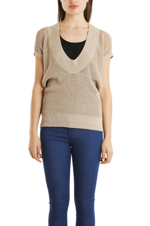 Vpl Women's  Neo Low O Sweater In Taupe
