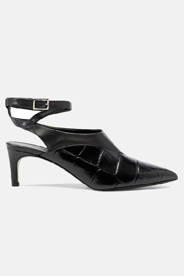 3.1 Phillip Lim Women's  Nina Vamp Heels Shoes In Black