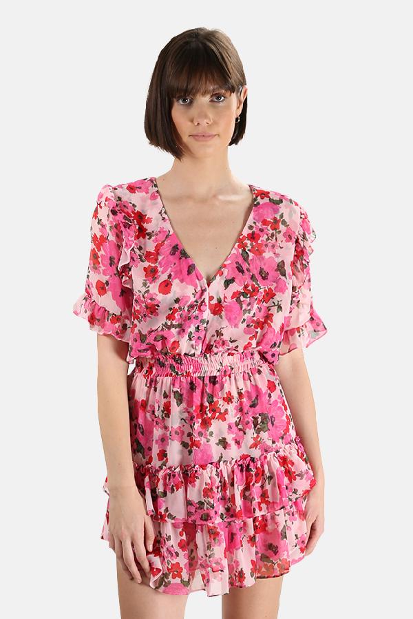 Misa Women's  Los Angeles Devan Dress In Pink
