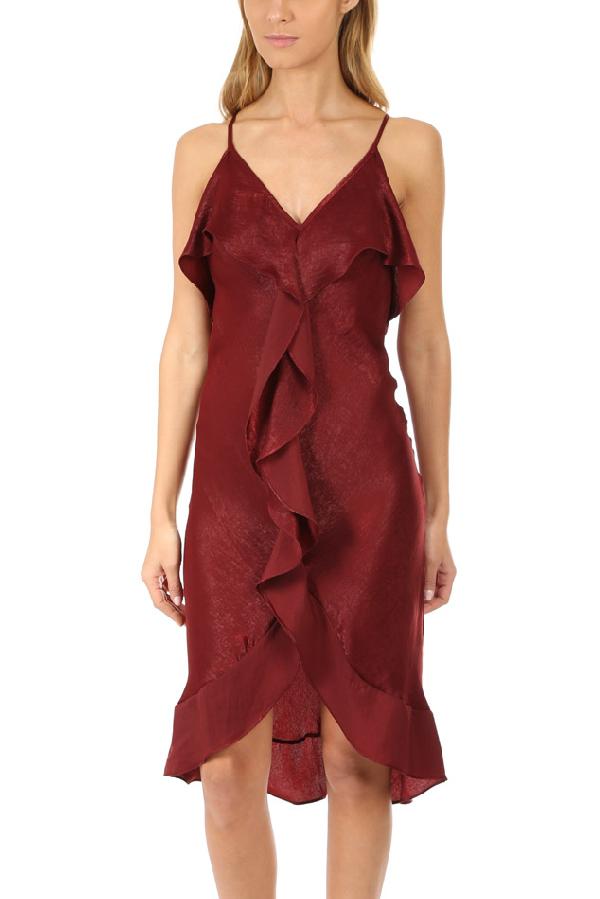Misa Women's  Los Angeles Ele Dress In Wine