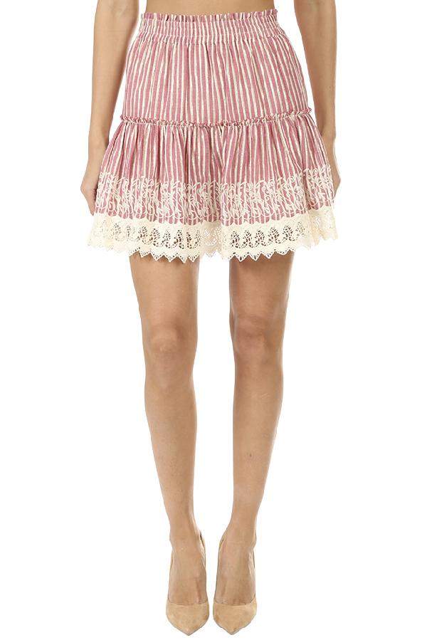 Misa Women's  Los Angeles Silvia Skirt In Pink