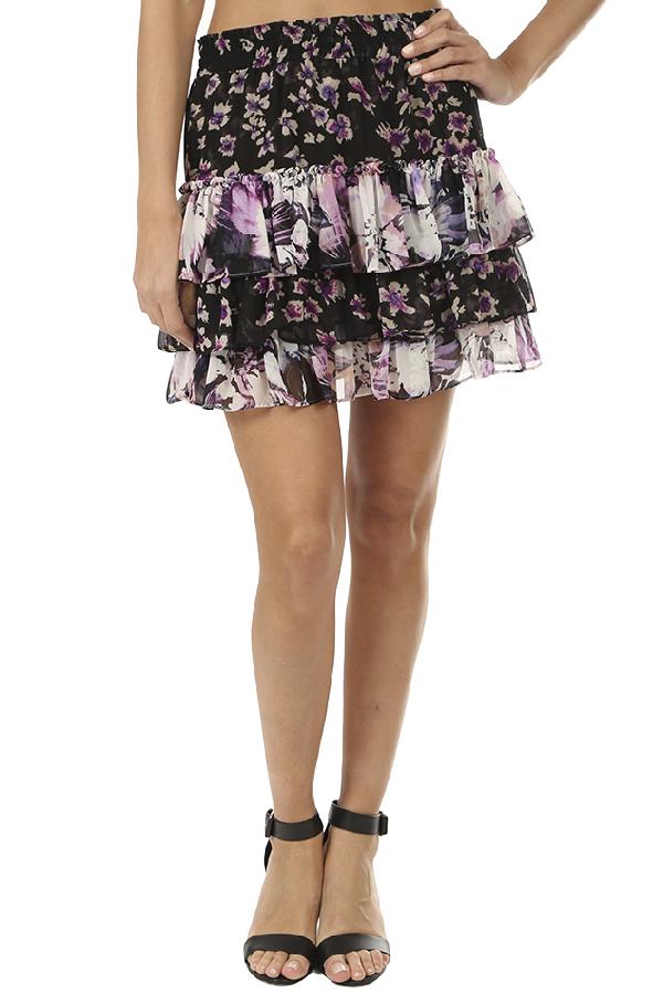Misa Women's  Los Angeles Teo Skirt In Black