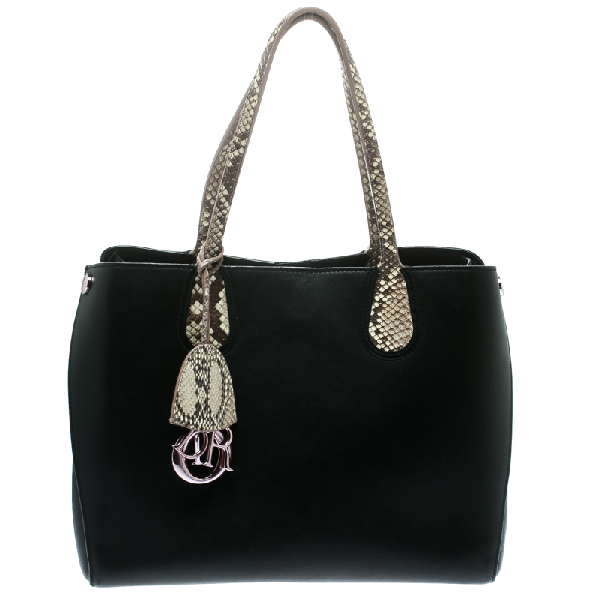 Dior Addict Shopper In Black