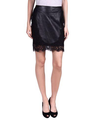 Roberto Cavalli Knee Length Skirt In Black