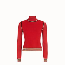 Fendi Jumper In Red
