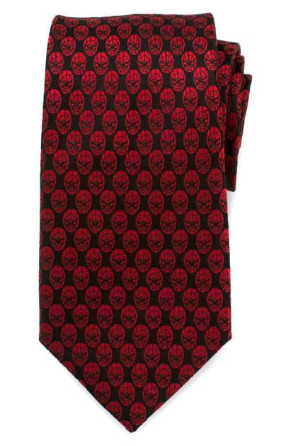 Cufflinks, Inc Spider-man Silk Tie In Red