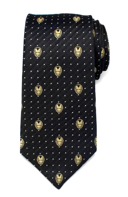 Cufflinks, Inc 'iron Man' Silk Tie In Gray