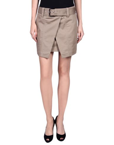 Barbara Bui Mini Skirt In Khaki