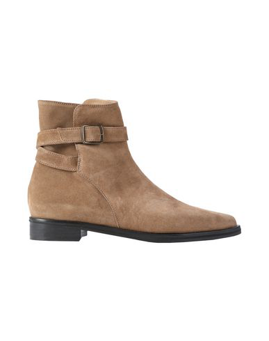 8 By Yoox Ankle Boot In Camel