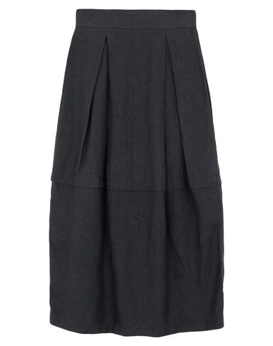 Sartorial Monk Maxi Skirts In Lead