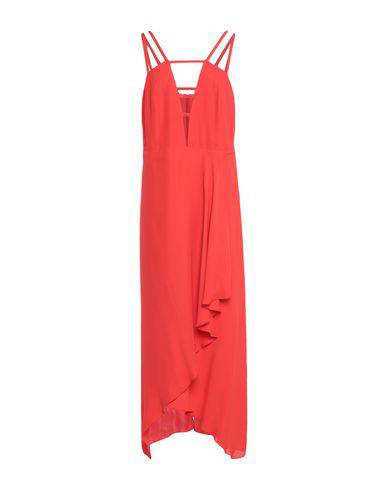 Lala Berlin Long Dress In Red