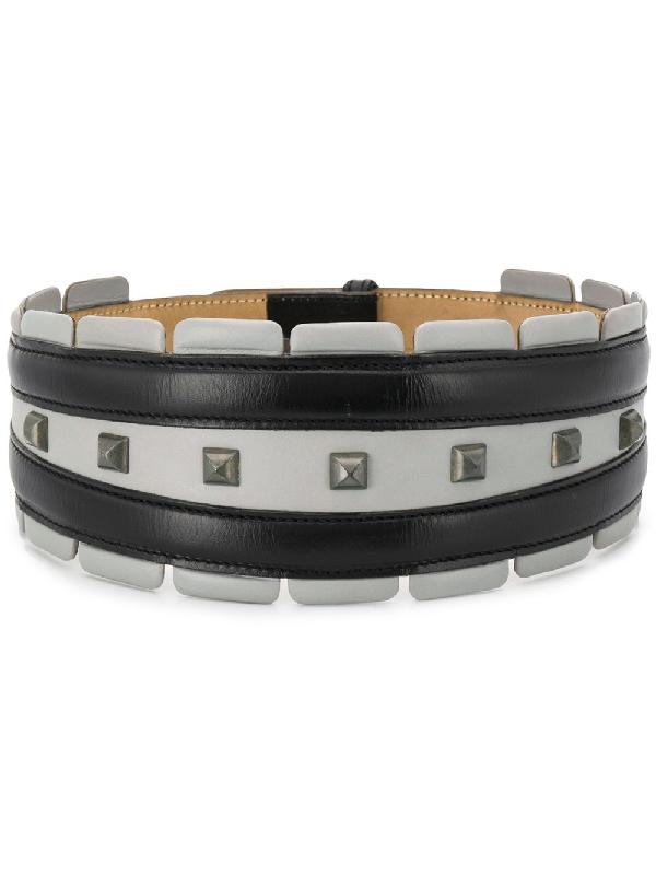 Alaïa 1990s Studded Wide Belt In Black