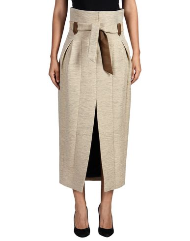 The Row Long Skirts In Beige
