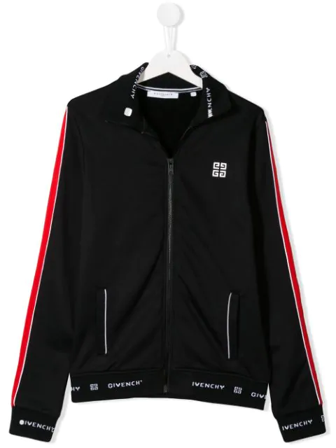 Givenchy Kids' Black Sport Jacket