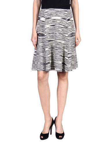 Missoni Knee Length Skirt In Ivory