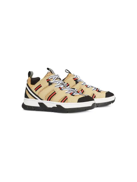 Burberry Unisex Union Low-top Sneakers - Toddler, Little Kid In Neutrals