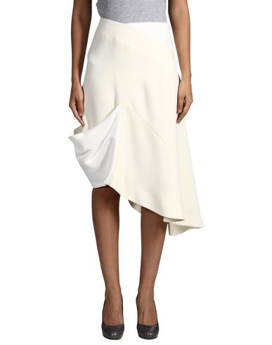 J.W.Anderson Midi Skirts In Ivory