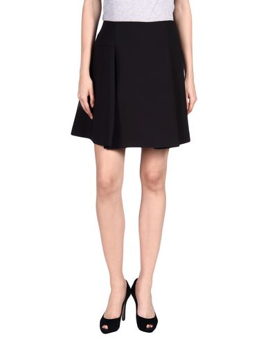 Jil Sander Knee Length Skirt In Black
