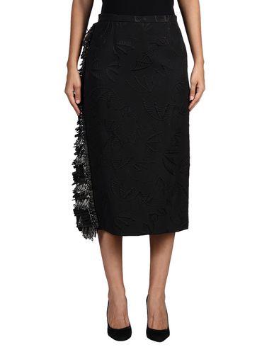 Rochas 3/4 Length Skirt In Black